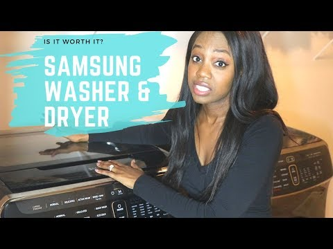 New Samsung Flex Washer & Dryer Review! Worth buying??? My honest thoughts