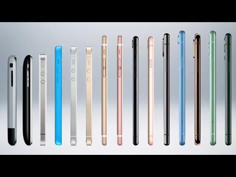 History of the iPhone - История iPhone 2007-2019