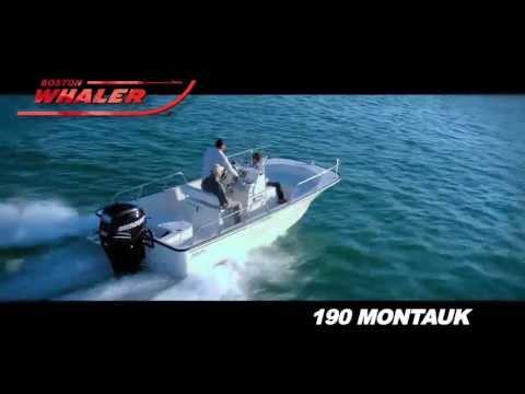 Boston Whaler 190 Montauk video