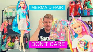 2020 Barbie HAIR FANTASY | Mermaid And Unicorn Hair Play Set | ADULT COLLECTORS ONLY