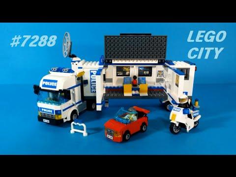 Vidéo LEGO City 7288 : L'unité de police mobile