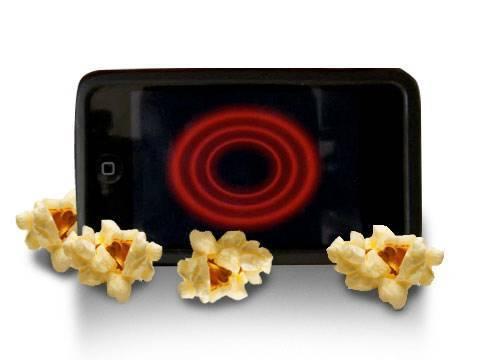 Popcornová aplikace na iPhone