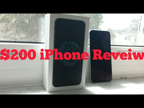 $200 Walmart 32gb iPhone 6 Review (From Straight Talk) *$129 Black Friday *