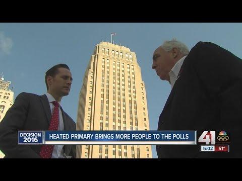 Heated primary season brings people to the polls