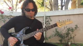 Lonely in the Night Cover Solo by Rio - Eric Johnson