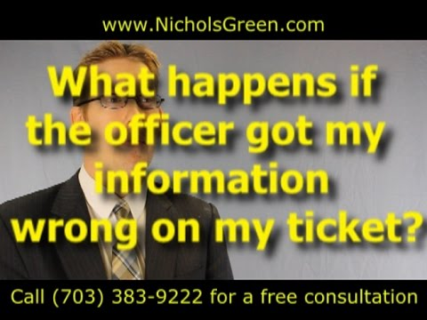 The Officer Got My Information Wrong On My Ticket (Police Ticket Errors) Mp3