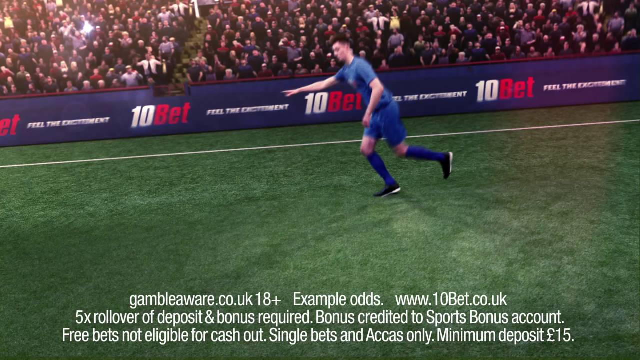 10Bet TV Ad - Feel The Excitement