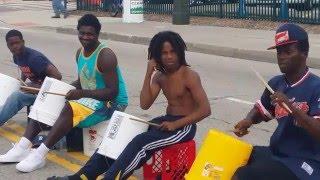 Chicago bucket boys in Detroit