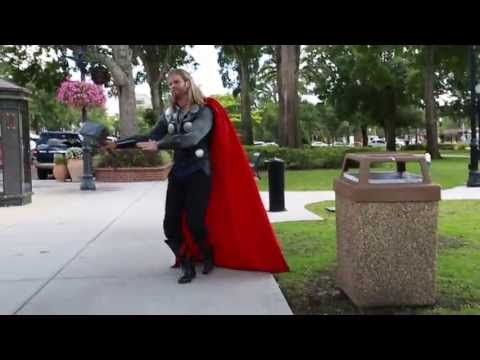 Thor Prancercising Neatorama