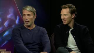 Бенедикт Камбербэтч, FaceBook Interviews with Scott Derrickson, Mads Mikkelsen, and Benedict Cumberbatch