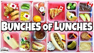 Christmas Lunches AROUND THE WORLD 🎄 Bunches of Lunches