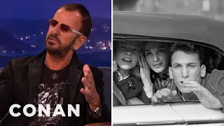 Ringo Starr On His Classic Beatles Era Photographs  - CONAN on TBS
