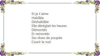 Christophe - Lita Lyrics