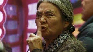 樹木希林の華麗なるパチンコ玉万引きシーン/映画『万引き家族』本編映像