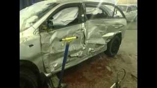 Кузовной ремонт.Toyota body repair.