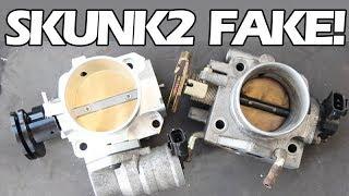 FAKE 'SKUNK2' THROTTLE BODY FOR MX-5 MIATA