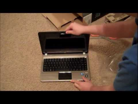 Unboxing: HP Pavilion dm4 Laptop