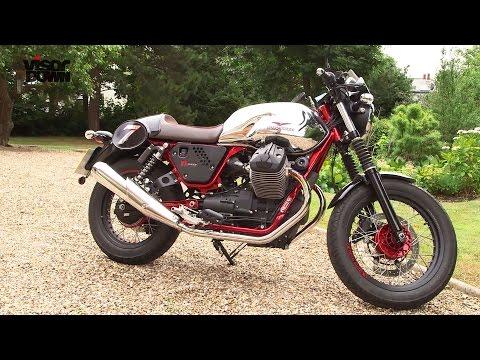Moto Guzzi V7 II Racer review | Visordown Road Test