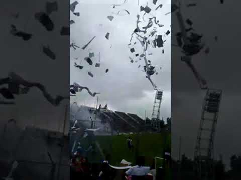 """""""Recibimiento juventud Antoniana vs zapla"""" Barra: La Inigualable Nº1 del Norte • Club: Juventud Antoniana"""