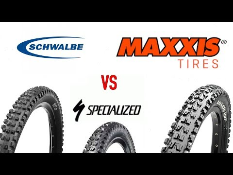Best enduro mtb tires? Maxxis vs Schwalbe vs Specialized