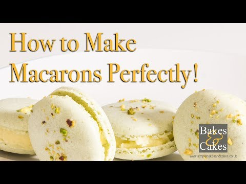 How to make macarons perfectly: Video recipe