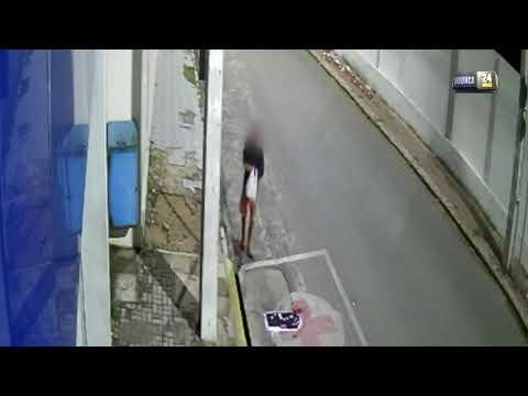 Vídeo: Homem prepara 'armadilha' com fios para derrubar motos e praticar assaltos em Caruaru