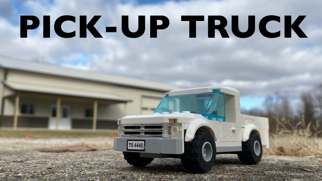 LEGO Pick-up Truck MOC!