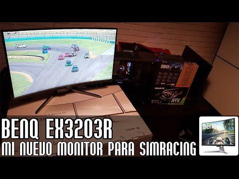 BenQ EX3203R || Mi nuevo monitor para simracing (видео)