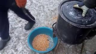 Теребилка для  кукурузы , сделал родителям .