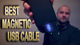 Best Magnetic USB Cable Review, Type C, Lightning or Micro, Fast Charge and DATA Capable.