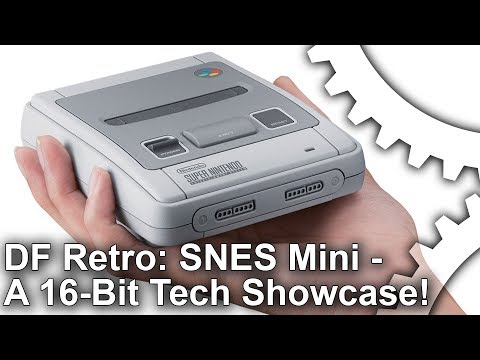 DF Retro: SNES Mini Preview - A 16-Bit Tech Showcase!