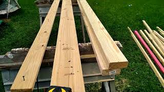 How to make a jig to rip 2x4s fast! How to make 2x2s for a chicken coop!