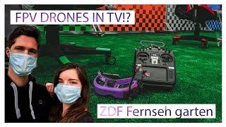 FPV Drones in German TV!? ZDF Fernsehgarten 2020 10.05 | MaiOnHigh
