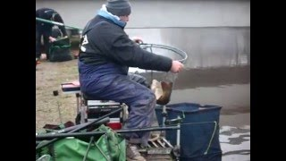 preview picture of video 'FISH ST HELEN, st helens canal new years eve match'