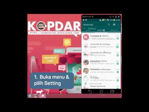 Video Cara Mengganti Nomor WhatsApp Tanpa Menghapus Kontak