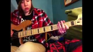 "Joyce Manor ""End of the Summer"" Bass cover"
