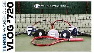Custom Lleyton Hewitt Yonex Racquets, Babolat String + New TW Hats that we LOVE - VLOG #720