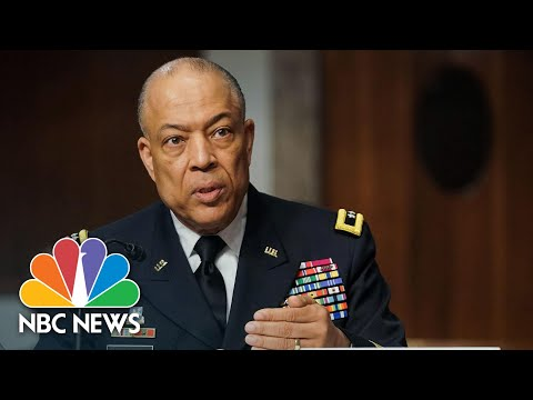 D.C. National Guard Commander Discusses 'Unusual' Delay For Approval To Help During Capitol Riot
