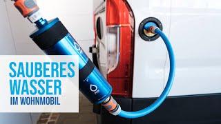SAUBERES WASSER im WOHNMOBIL: Wasserfilter-Test   Durchfluss   Varianten   Ease-of-Use   Alb-Filter