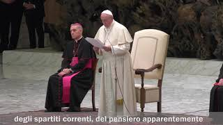 Ottant'anni di Lumsa con Papa Francesco