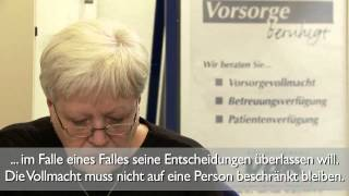 Video: VdK-TV: Vorsorgevollmacht (UT)