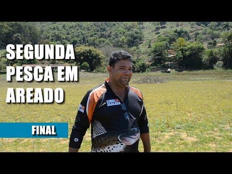 SEGUNDA PESCARIA EM AREADO MG. PARTE FINAL Canal Saalada