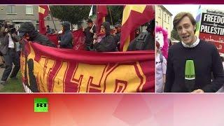 В Великобритании сотни активистов протестуют против политики НАТО