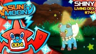 Rockruff  - (Pokémon) - INSANE LUCK SHINY ROCKRUFF! Quest For Shiny Living Dex #744   Pokemon Sun and Moon Shiny #4