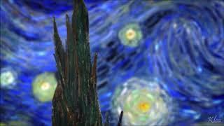 Vincent - Ellie Goulding [ Starry Night animation ]