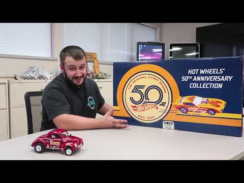 Unboxing: Factory Sealed Hotwheels 50th Anniversary Master Set