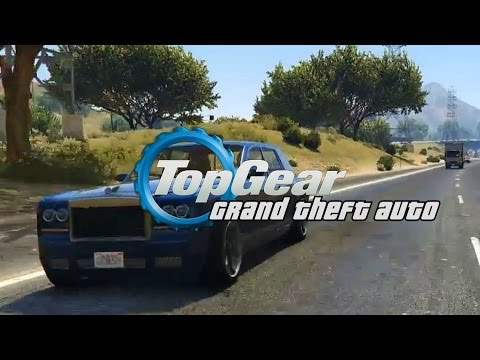 tom, sam and ryan return for a second episode of gta v top gear