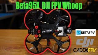BETAFPV Beta95X Digital FPV Build & Review - Caddx Vista DJI PFV Build