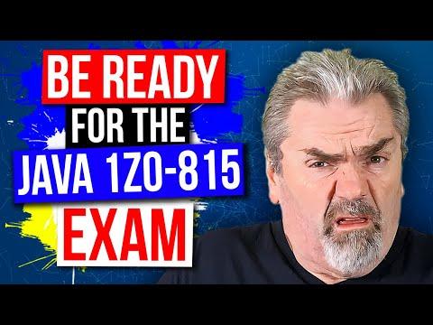 Java SE 11 Programmer Exam Course - Oracle 1Z0-815 on Udemy ...