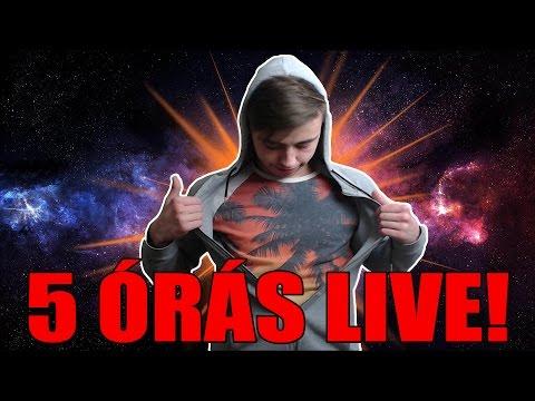 5 ÓRÁS HIPERSZUPER LIVE!